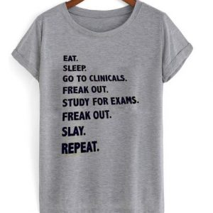 EAT SLEEP GO TSHIRT