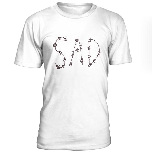 Sad Flower Unisex t-shirt