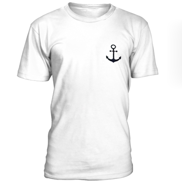 Anchor Unisex White T-Shirt