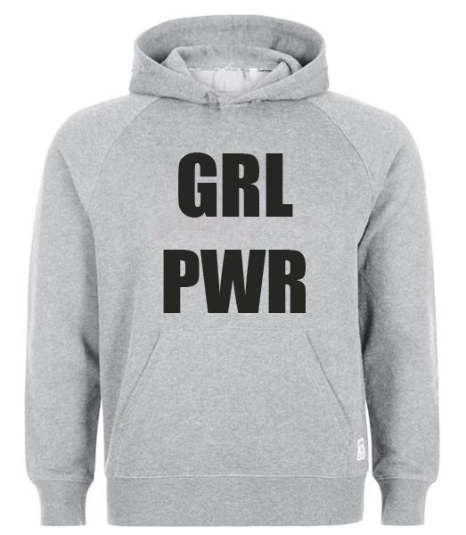GRL PWR Hoodie Best Custom