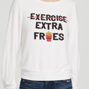 WILDFOX Sweatshirt - Extra Fries