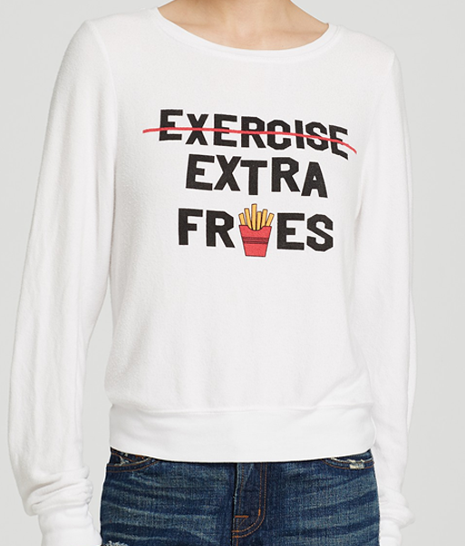 WILDFOX Sweatshirt - Extra Fries