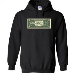 America One Dollar Bill Hoodie