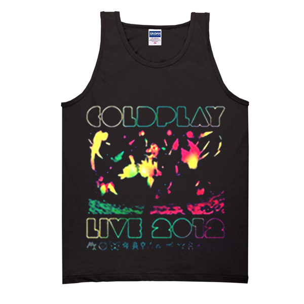 2012 Australian Tour Coldplay Concert Tank Top