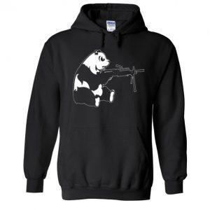 Machine Gun Panda Hoodie