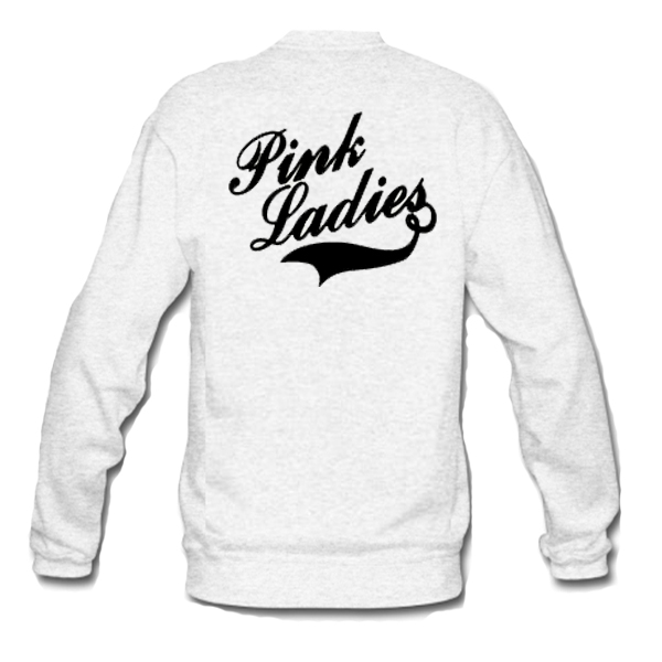 Pink Ladies Sweatshirt Back