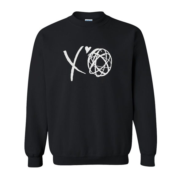 The Weeknd x Futura XO Futura XO Logo Sweatshirt