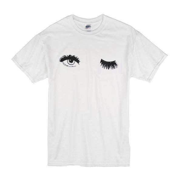 Wink Eyelash T-Shirt