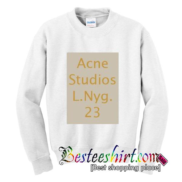 Acne Studios L NYG 23 Sweatshirt