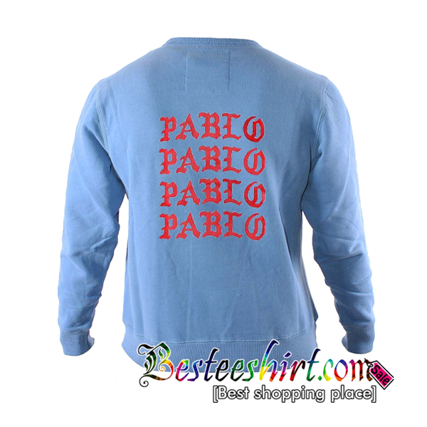 Pablo Sweatshirt Back