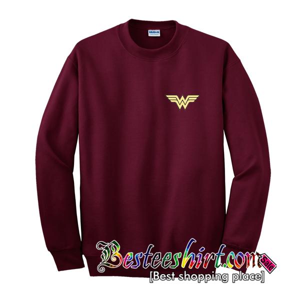 Wonder Woman Logo Sweatshirt