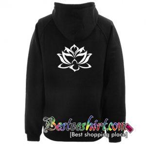 Lotus Hoodie Back