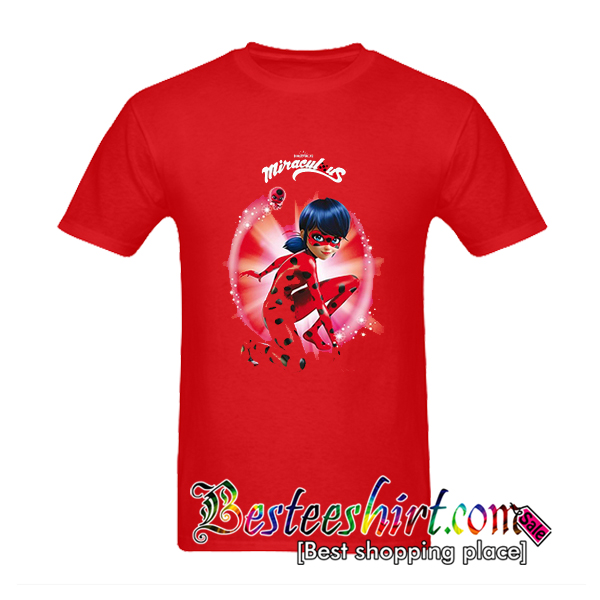 ZAG Heroez Red Miraculous T-Shirt