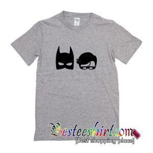 The Dark Superhero And The Bird Superhero T-Shirt
