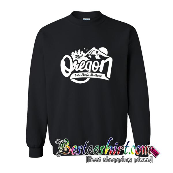 Visit Oregon Vintage Sweatshirt
