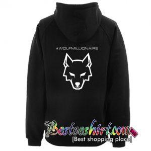 Wolfmillionaire Hoodie Back