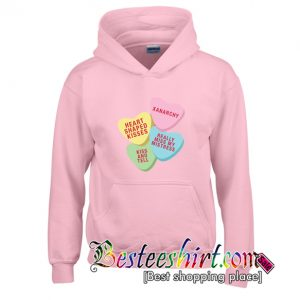 Xanarchy Candy Heart Hoodie