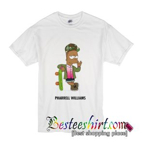 Pharrell Williams & Bart Simpson T-Shirt