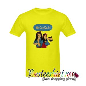 Rosie and Lorelai the Riveter We Can Do It T-Shirt