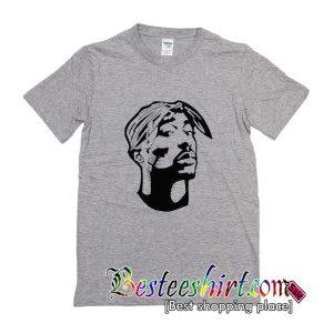 Tupac Shakur Silhouette T-Shirt