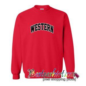 Western Sweatshirt