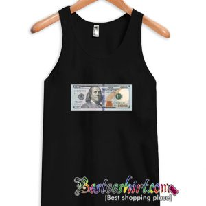 100 Dollar Bill USD Tanktop