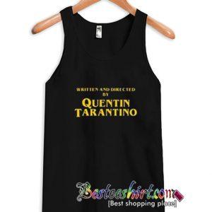 Written and Directed Quentin Tarantino Tanktop