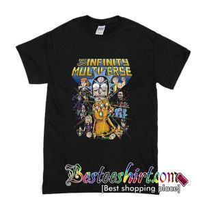 Rick And Morty The Infinity Multiverse T-Shirt