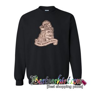 Vlad's Mustache Rides Sweatshirt