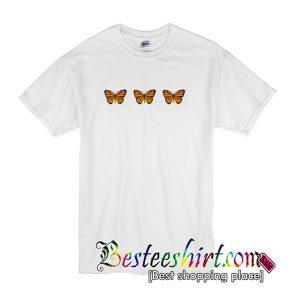 Triple Butterfly T shirt