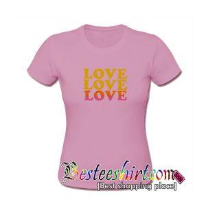 Triple Love T Shirt