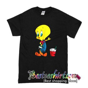 Tweety Bird Cartoon T Shirt