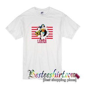 Wonder Women I Love Gaultier T-Shirt