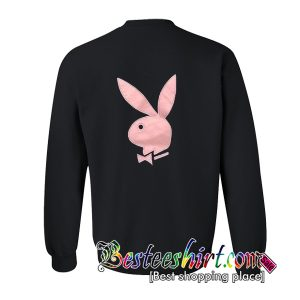 Playboy Logo Pink Sweatshirt Back