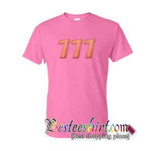Triple 7 Pink T Shirt RK07
