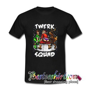 Twerk Santa Squad T Shirt