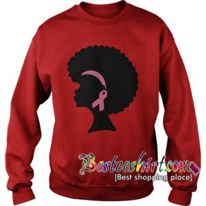 The Oprah Winfrey We Wear Pink Breast Cancer Sweatshirt RK
