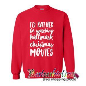 Hallmark Christmas Movies Sweatshirt (BSM)
