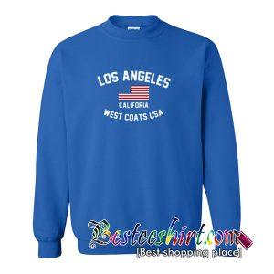 Los Angeles California West Coast Usa Sweatshirt (BSM)