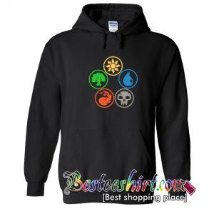 Magic the Gathering Colors of Mana Hoodie (BSM)
