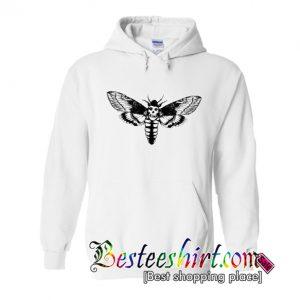 A scary Death Head Moth Hoodie (BSM)