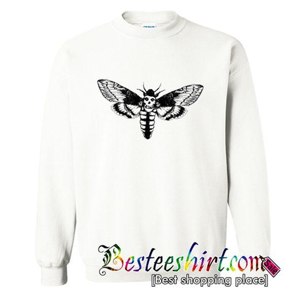 A scary Death Head Moth Sweatshirt (BSM)