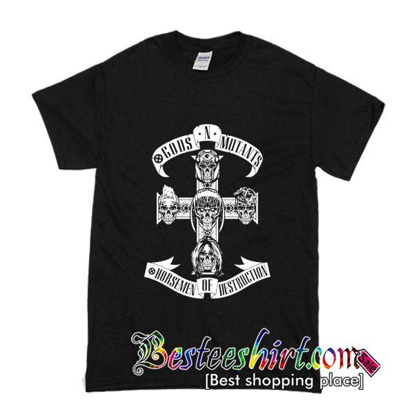 Human Mutant Relationship Academy T Shirt (BSM)