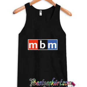 Movies by Minutes Podcaster Logo Tanktop (BSM)