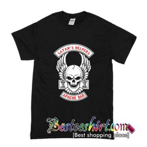 Ride to Live Not Today Satan T Shirt (BSM)