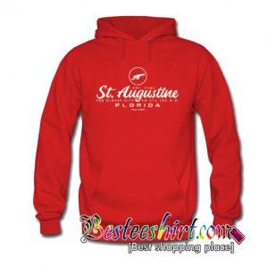 St Augustine Florida Cannon Hoodie (BSM)