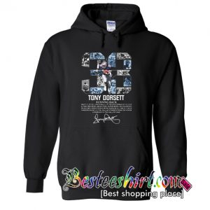 33 Tony Dorsett Running Back Signature Hoodie (BSM)