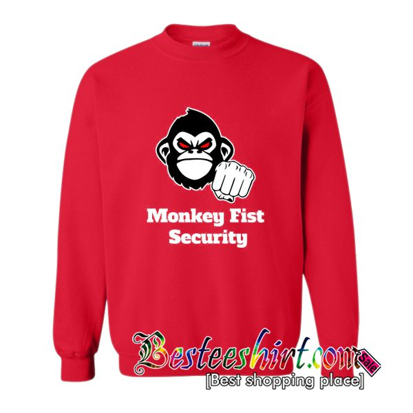Monkey Fist Security Sweatshirt (BSM)