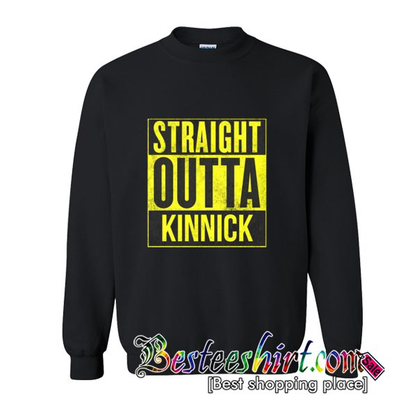 Straight Outta Kinnick Sweatshirt (BSM)