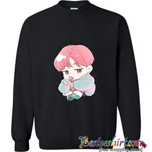 The Incredible BTS Chibi Park Jimin Sweatshirt (BSM)